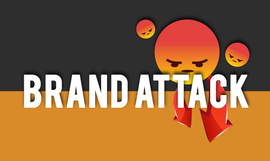 Brand attack
