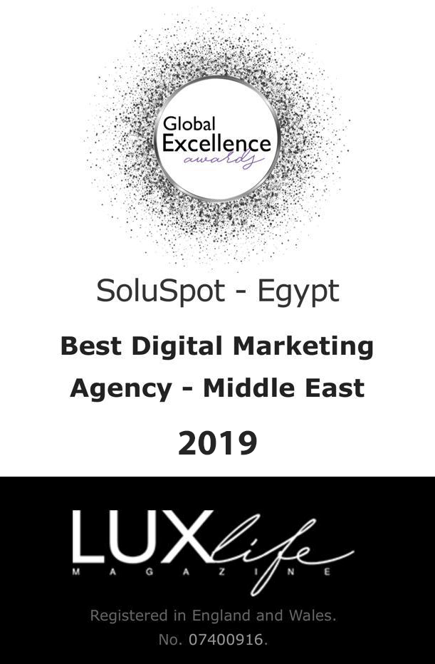 soluspot-Egypt best marketing agency certificate